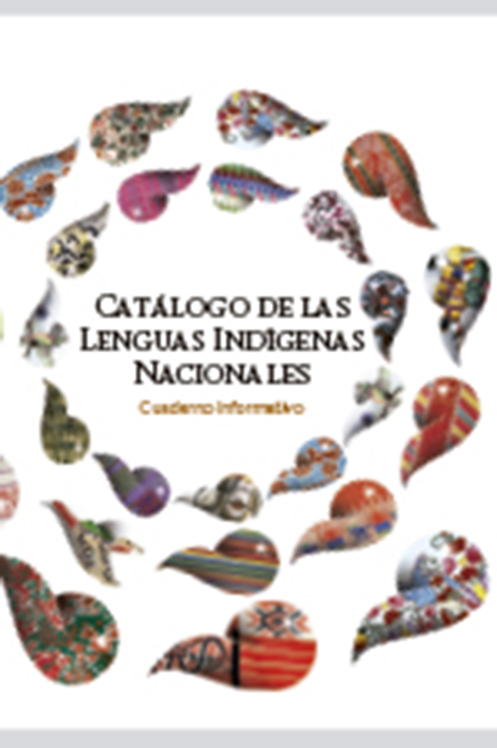 cuadernillo catalogo de lenguas indigenas